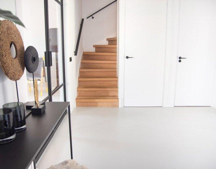 Zilva vloeren project Veenendaal betonvloer