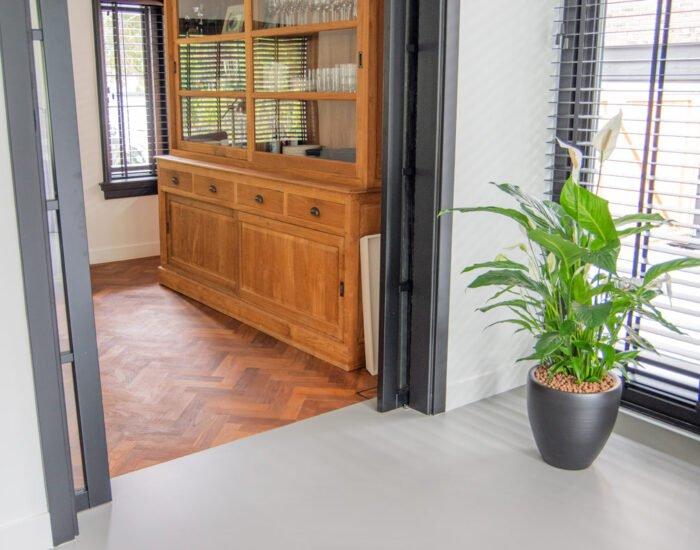 Zilva vloeren project Veenendaal gietvloer